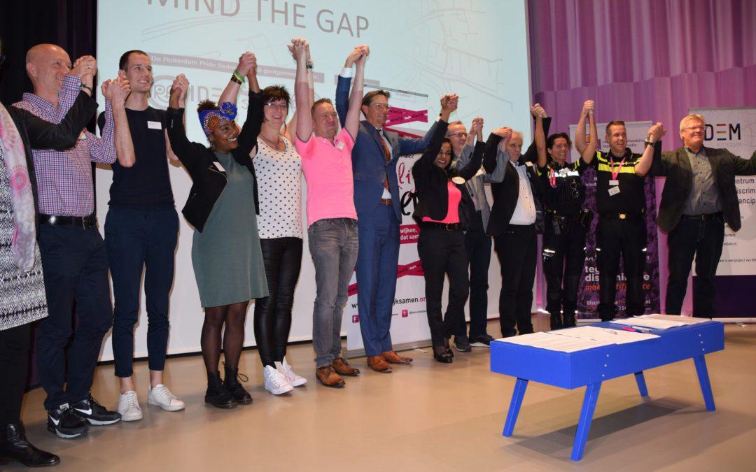 MIND THE GAP: Hoe maken we Rotterdam veiliger voor lhbti-personen?