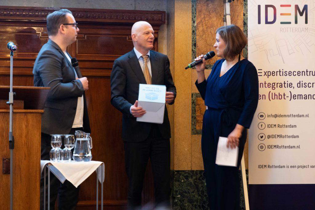 Unboxing Gender & Veiligheid - wethouder Bert Wijbenga