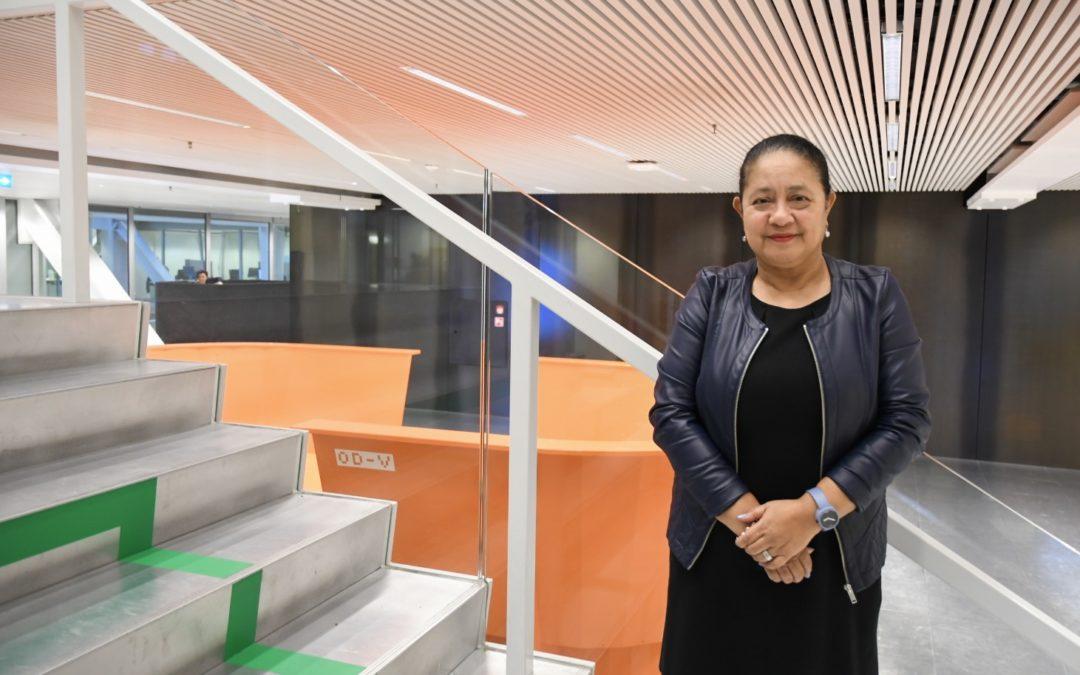 Martha Louis, beleidsadviseur van de gemeente Rotterdam
