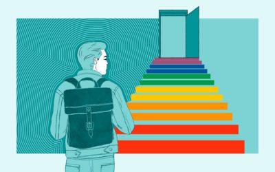 Respect op de regenboogtrap: hoe gaan middelbare scholen om met seksuele diversiteit?