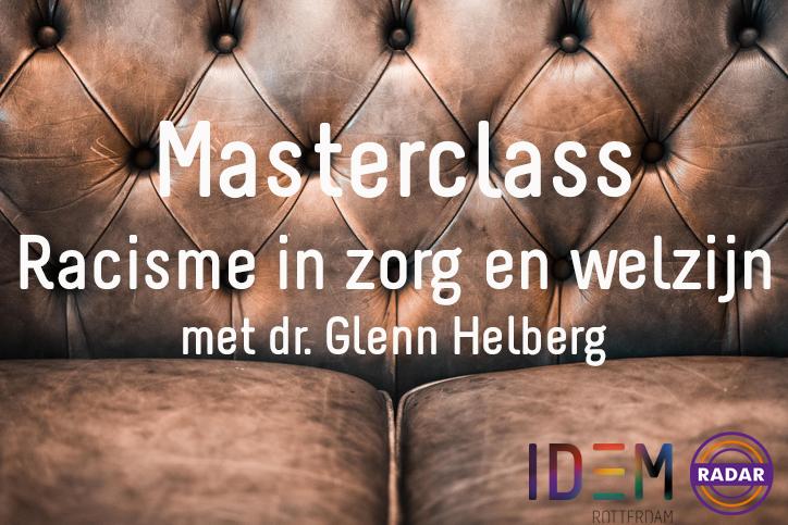 Terugkijken: Masterclass Racisme in Zorg en Welzijn