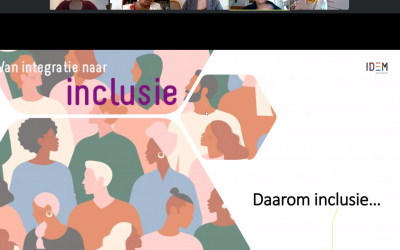Van integratie naar inclusie: online in gesprek over inclusie